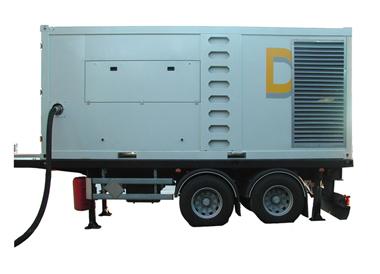 Electric drive oil-free air compressor DNS 160 VSD