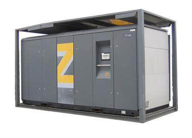 Electric drive oil-free air compressor ZT >90kW