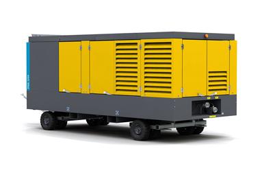 Diesel-driven oil-free air compressor PNS1250