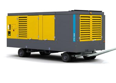 Diesel-driven oil-free air compressor PNS106