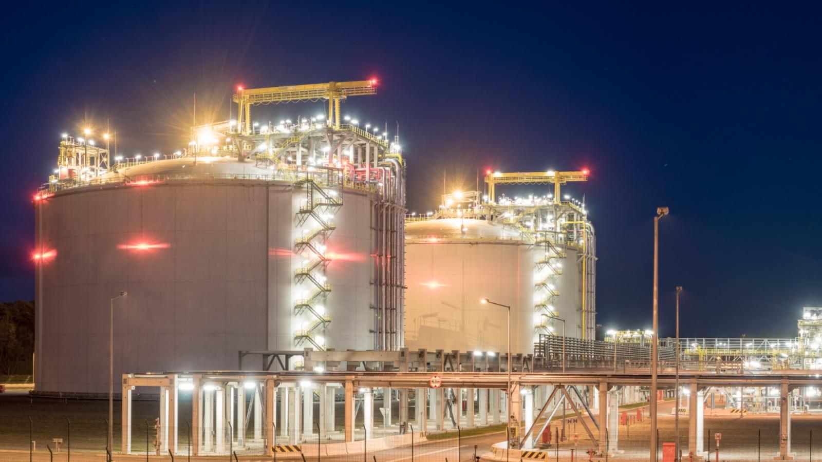 无油空压机租赁LNG行业案例分享