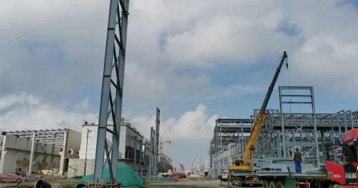 总投资4.2亿元中气投(唐山)气体项目进展顺利