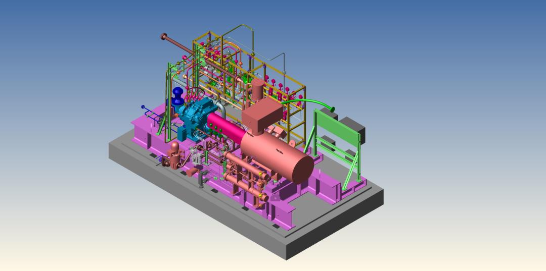 阿特拉斯·科普柯乙烯压缩机在苯乙烯生产工艺中的应用