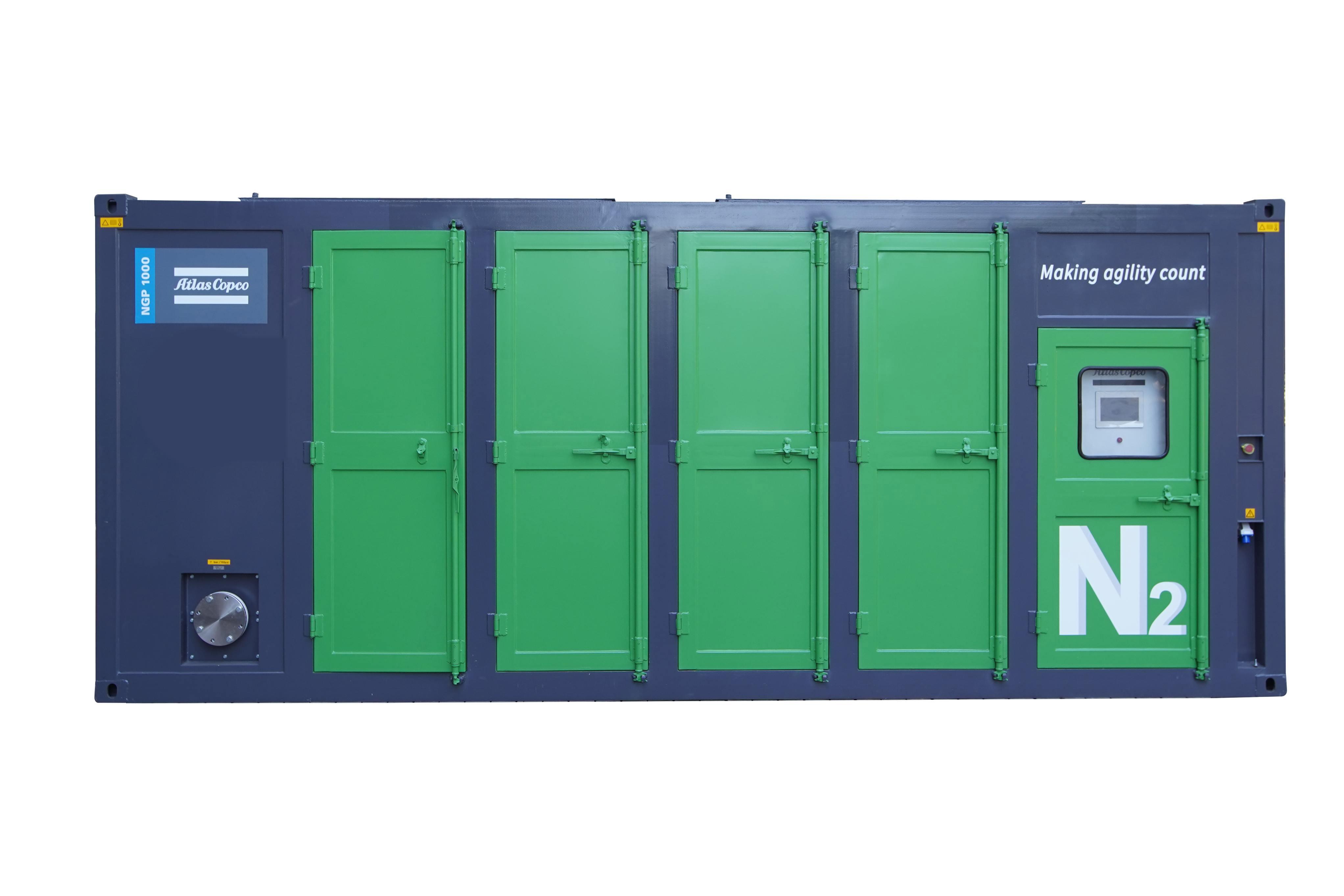 阿特拉斯·科普柯全新NGP 1000变压吸附式制氮机介绍