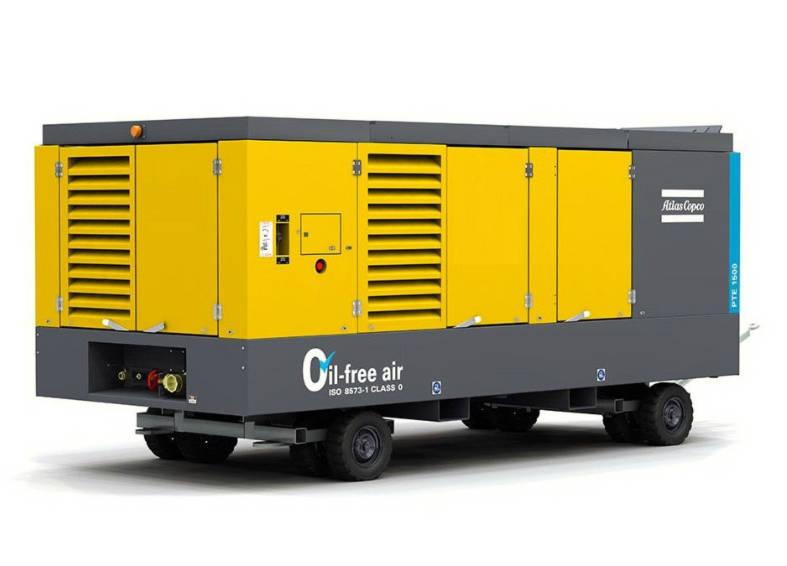电力驱动无油空气压缩机租赁PTE1500