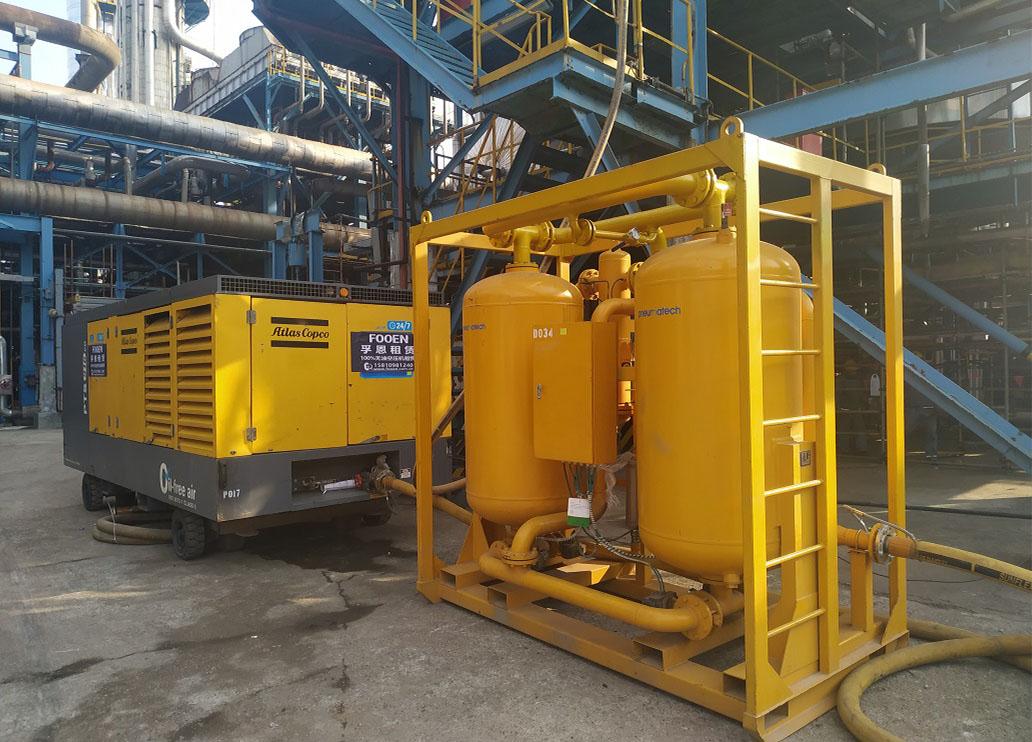 柴油驱动无油空气压缩机PTS系列