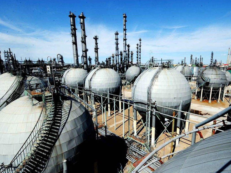 Petrochemical natural gas industry