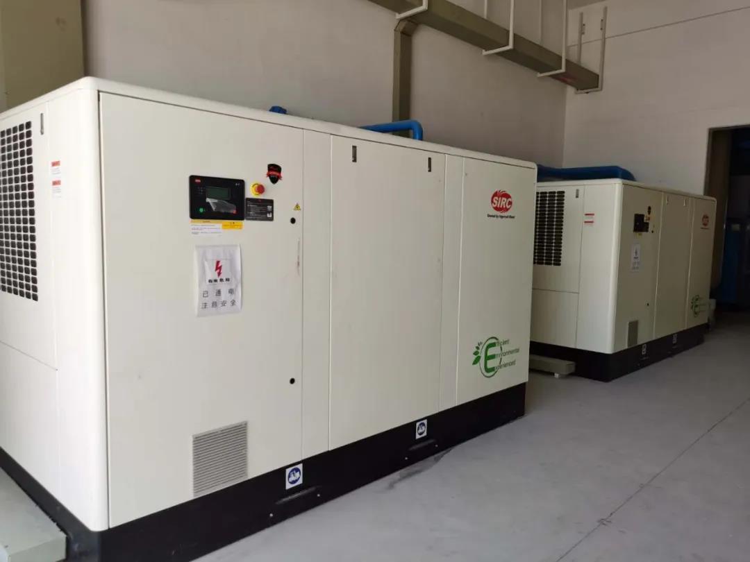 空压机在危废处理行业中的应用