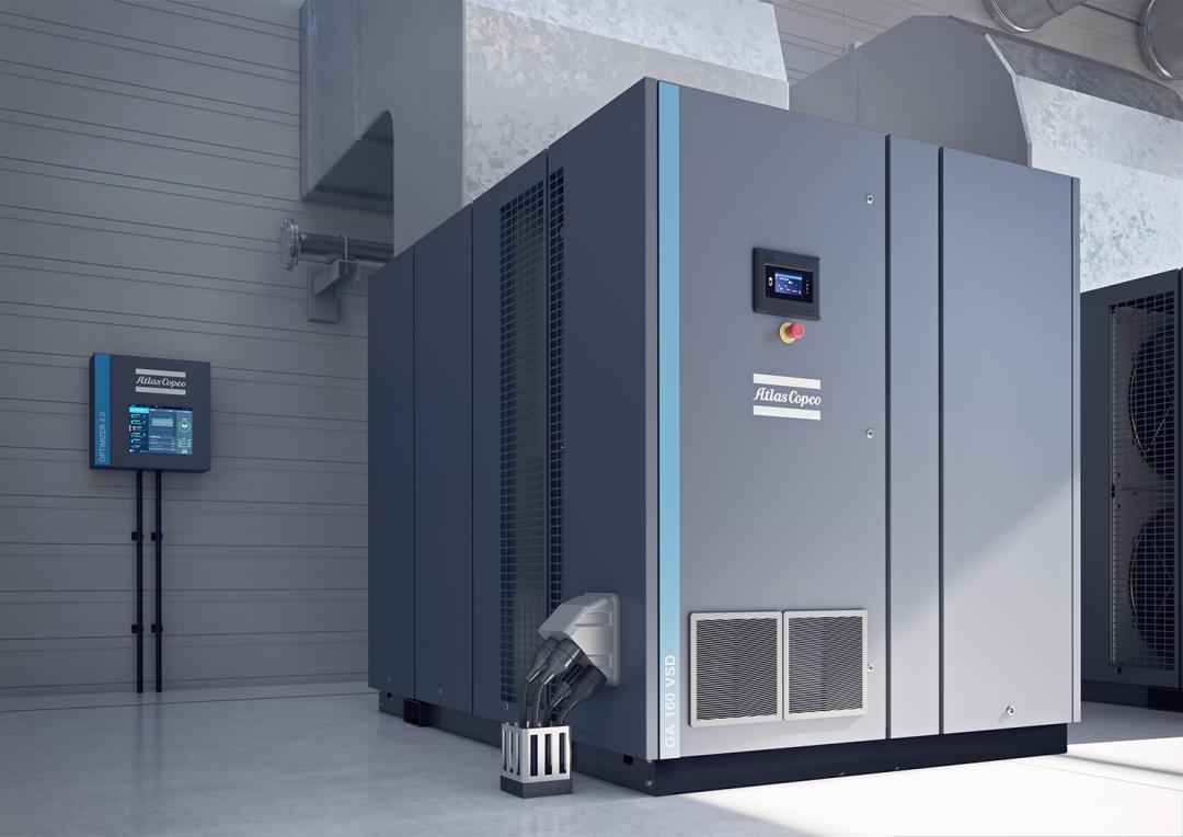 阿特拉斯·科普柯GA160VSD+喷油螺杆压缩机和HX/HN系列工艺活塞压缩机简介
