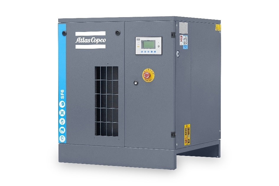 阿特拉斯科普柯国产化SF系列无油涡旋压缩机正式发布
