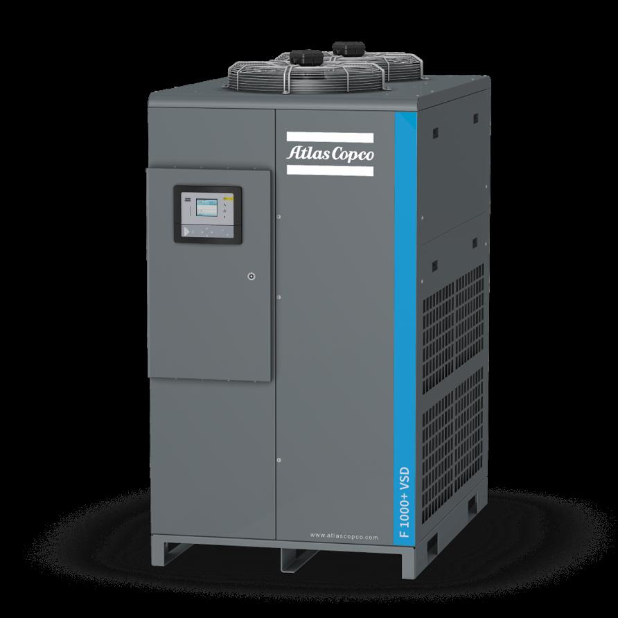 阿特拉斯·科普柯正式推出全新F+ VSD系列变频冷干机