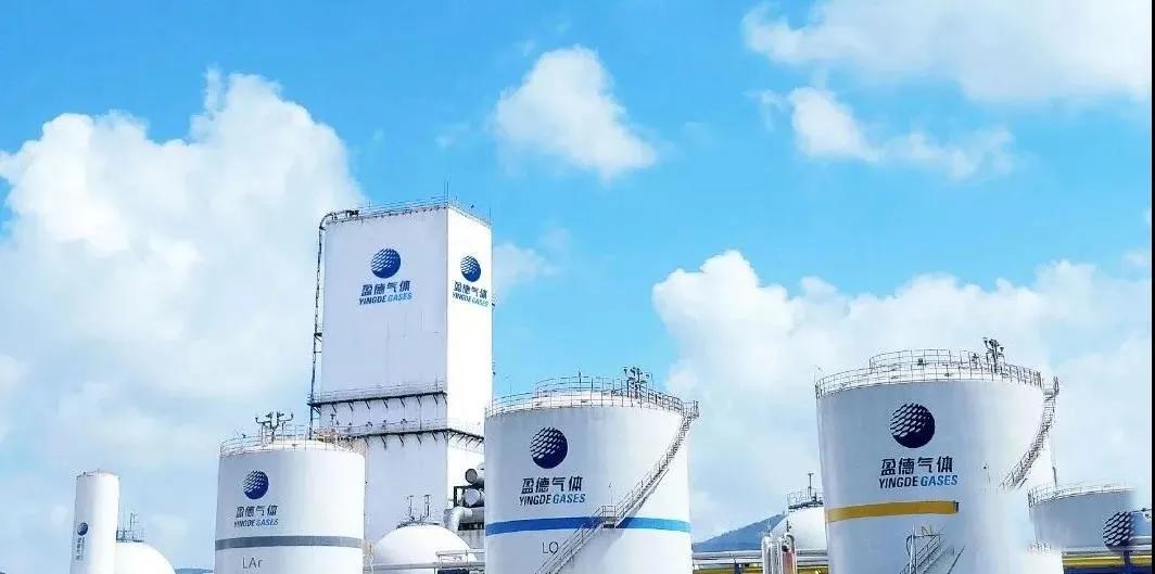 盈德气体将为两家用户分别新建6万空分装置