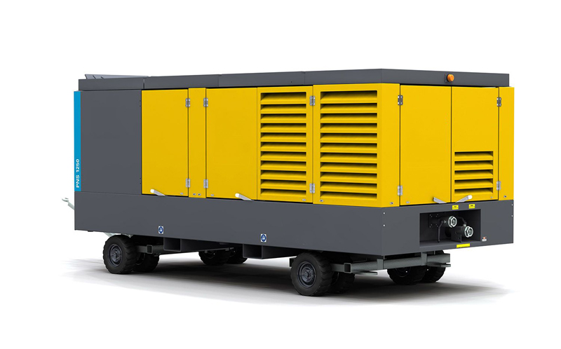 Diesel-driven oil-free air compressor PNS1250