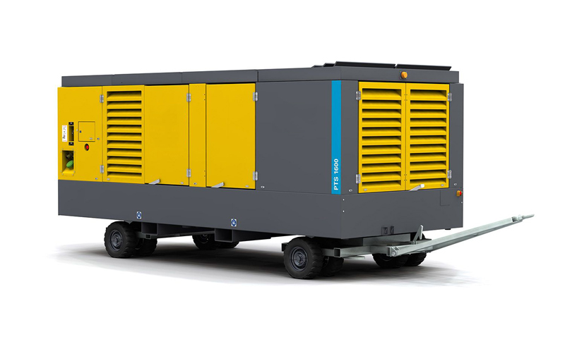 Diesel-driven oil-free air compressor PNS106