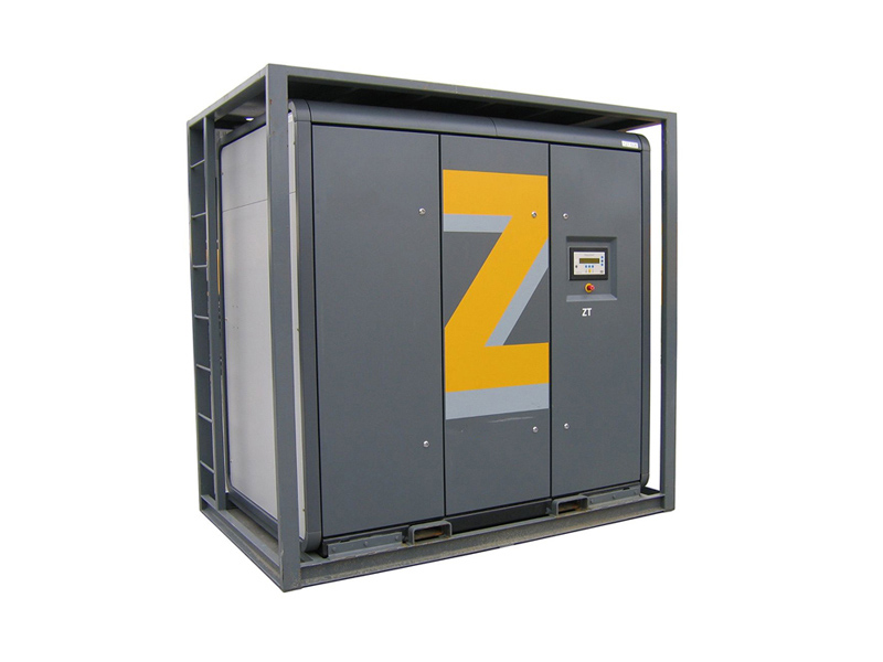 Electrically-driven oil-free air compressor ZT < 90 kw